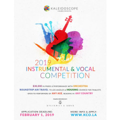 2019 Kaleidoscope Instrumental and Vocal Competition