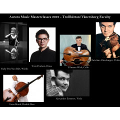 Aurora Music Double Bass Masterclasses - Leon Bosch