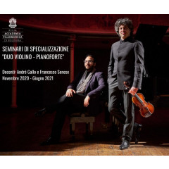 "Specialization seminars for ""Violin and piano duo"""