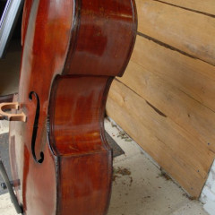 German Double bass. Possibly made in Dresden, circa 1880., pic 2