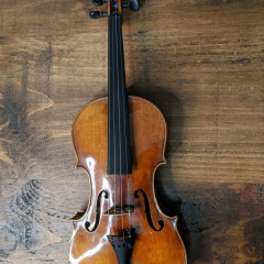 German Violin around 1910 Joseph Guarnerius Fecit Cremonae anno 1739 Copy, pic 1