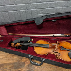 German Violin around 1910 Joseph Guarnerius Fecit Cremonae anno 1739 Copy, pic 2