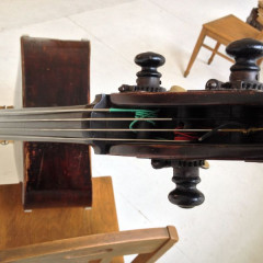 Bohemian Double Bass, ca. 1890. Very warm and dark sound., pic 2