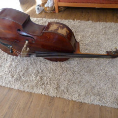 3/4 German Swell Back Double Bass c.1900, pic 1