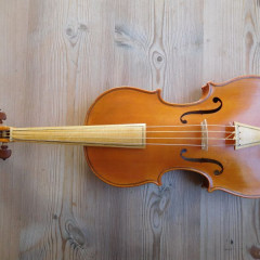 Baroque violin, English, 1982, + baroque bow and Rennaissance bow+ double case, pic 1