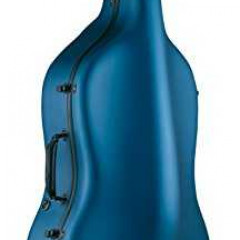 "Cello Honěk (from Czech republic) and two bows in blue cello case ""Carbon mac"", pic 2"