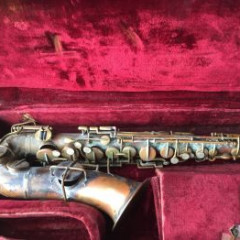 Buescher Alto Saxophone 56885 and Case, pic 2