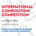 International Cimposition Competition Sinfonietta Per Sinfonietta