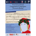 "First International Composition Competition ""Ferruccio Busoni"""