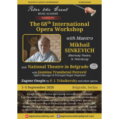 The 68th International Opera Workshop