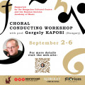 Choral conducting workshop with prof. Gergely Kaposi