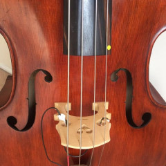 Rare Emanuel Wilfer Double Bass 1987, pic 2