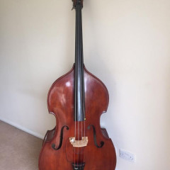 Rare Emanuel Wilfer Double Bass 1987, pic 1