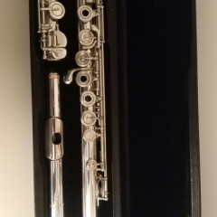 "Brannen Brothers ""Brögger Flute"" in 15/85 Gold-Silver Alloy, pic 1"
