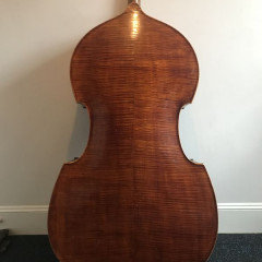 Late 19th century German double bass, pic 2