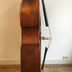 3/4 double bass, Saxon 1900, pic 3