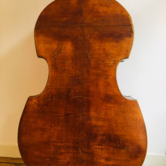 3/4 double bass, Saxon 1900, pic 2