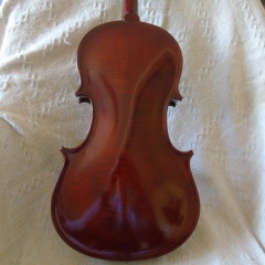 16 1/4 Baroque viola by George Stoppani, Manchester 1986, pic 2