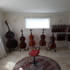 Old European Double basses, pic 1