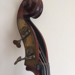 Rare Emanuel Wilfer Double Bass 1987, pic 3