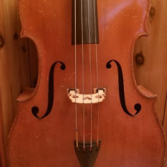 Andreas Morelli double bass ca.1950, pic 1