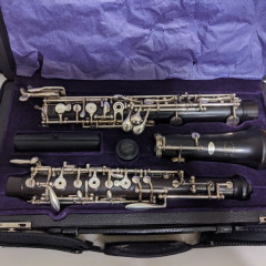 Loree Royal Oboe Full Conservatory S/N SY17 w/ 3rd Octave Key, pic 1
