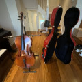 Stringers, Symphony cello 3/4 size almost new