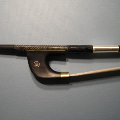 Plywood 3/4 upright and carbon fiber german bow, pic 2