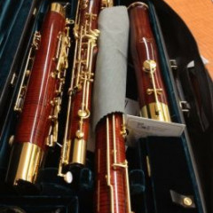 Fox 601 Red Maple Bassoon, pic 1