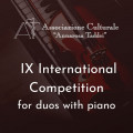 "International Duo Competition ""Premio Annarosa Taddei"" IX Ed."