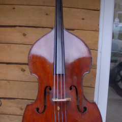 German Double bass. Possibly made in Dresden, circa 1880., pic 1