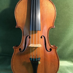 Fine Old French Violin by Honore Derazy Circa 1860, pic 1