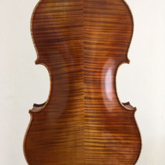 "Good 2018 16"" viola, case and two bows, pic 3"