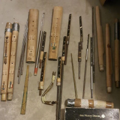 Bassoon Factory for sale, including tooling for bassoons at A=390, 415, 430 +  3 working bassoons, pic 1