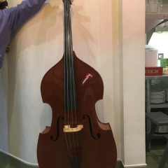 "Stentor ""Conservatoire"" 1/2 size double bass, pic 1"