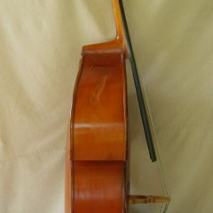 Double Bass made in Germany in the 60's evaluated by a professional Geigenbaumeister in Germany., pic 3