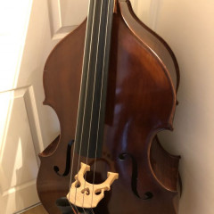 Calin Wultur 3/4 double bass, pic 1