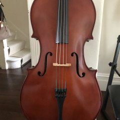 3/4 cello - like new !, pic 1