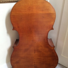 5 string violin cornered Luthier made double bass, pic 2