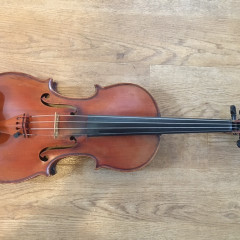 Special violin featured in The Song of Names movie, pic 2