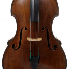 3/4 Pollmann German Double Bass Anniversary Special Bussetto Fully Carved 1988, pic 1