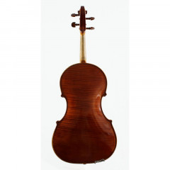 English Viola by and labelled Lawrence Cocker, Derby 1954. Tertis model no. 18, pic 2