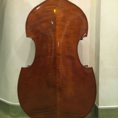 "Stentor ""Conservatoire"" 1/2 size double bass, pic 2"