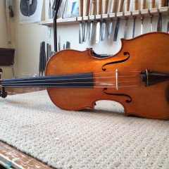 16.5 inch viola made by Stephen Collins., pic 2