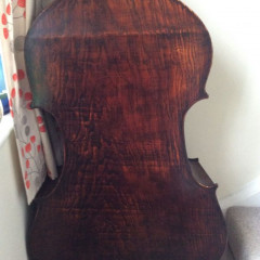 Hungarian Luthier made 3/4 stunning one piece back., pic 2