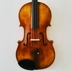 French viola by Emmanuelle Dion, Mirecourt (16 1/4″) dated 2008, pic 1
