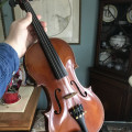 Beautiful 3/4 Size Höfner Student Violin (, Bow, and Case