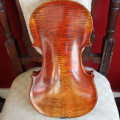 Violin, bow, rosin and case. Unbranded, new.