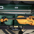 Powerful and Soloistical English Violin by R. Rigby, Bury 1975, Excellent Condition