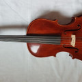 Good quality modern handmade Chinese viola with bow & case